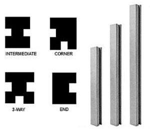"""8ft 6"""" Concrete Posts"""
