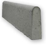 "Natural 6"" Round Concrete Edge"