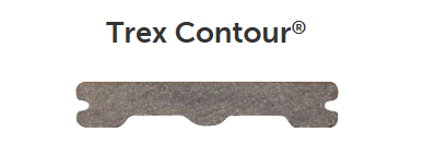 Trex Contour Pebble Grey