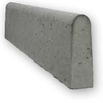 "Natural 6"" Round Concrete Edge"